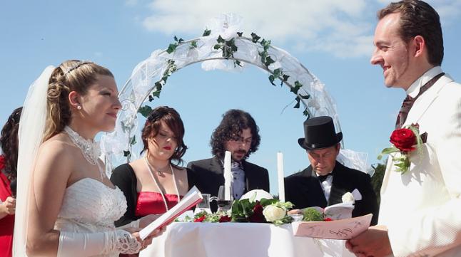 mariage theme cabaret années 20 cérémonie
