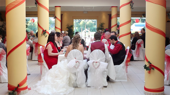mariage theme cabaret années 20 déco salle