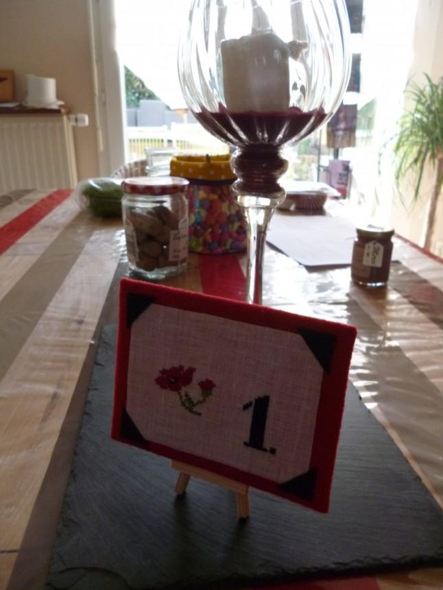 n°de table