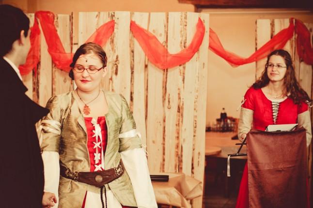 cérémonie laïque mariage médiéval-fantastique