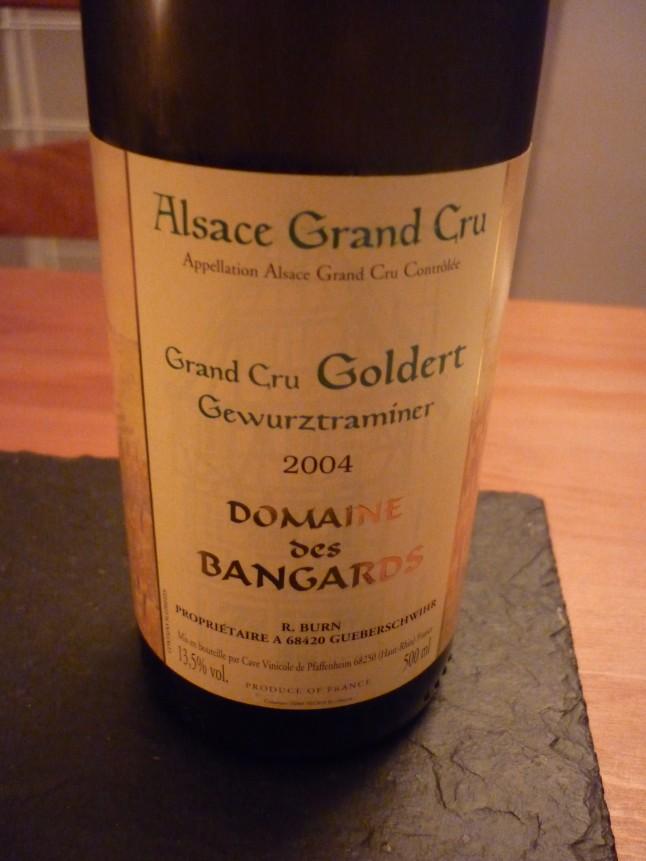 Bouteille de vin Alsace