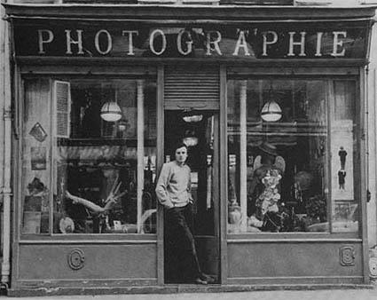 vieille boutique photographe