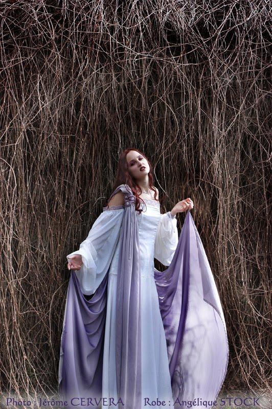 "robe de mariee elfique feerique ""Anaïs"" par Andralys"