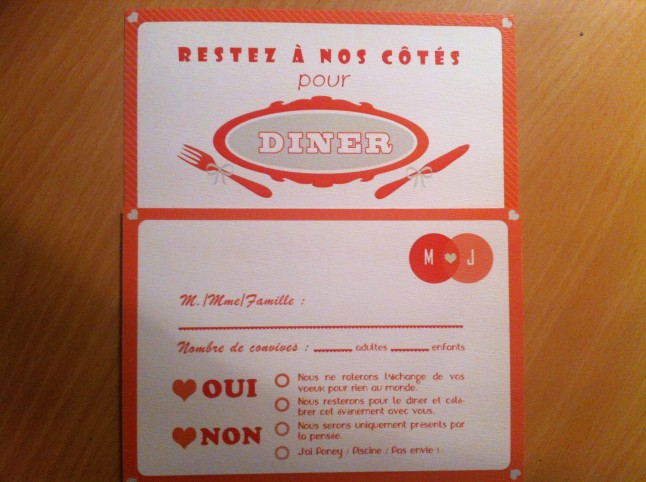 coupon d'invitation Mlle Zelda