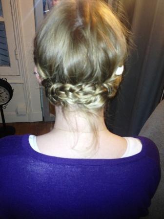 essai coiffure DIY