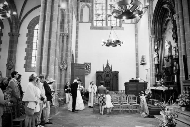 mariage St Méloir des Ondes Bretagne cérémonie église