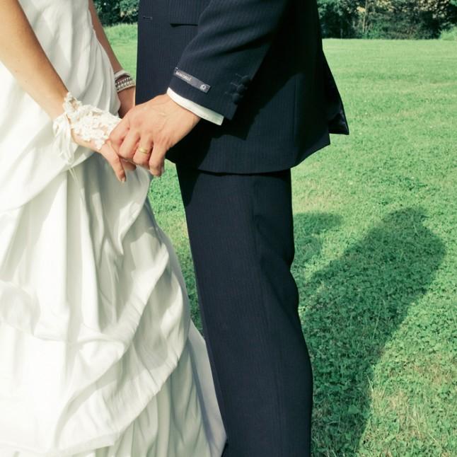 mariage St Méloir des Ondes Bretagne couple