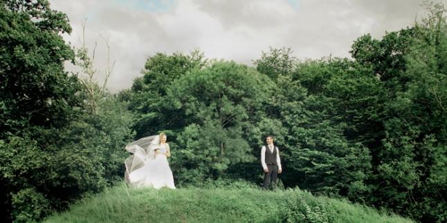 mariage St Méloir des Ondes Bretagne mariés