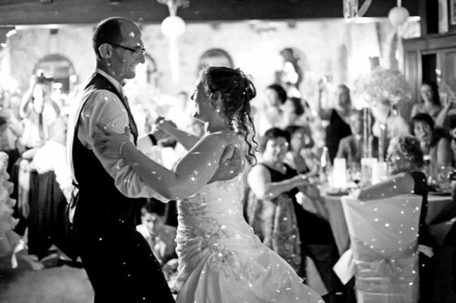 mariage pluie première danse