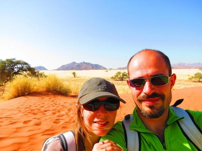 voyage de noces en Namibie