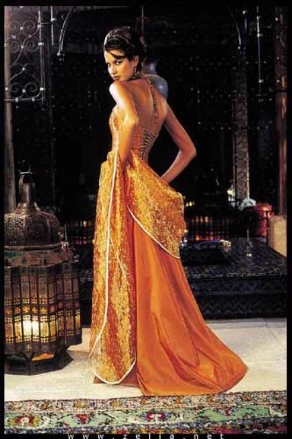 Zelia, robe Jasmine orange
