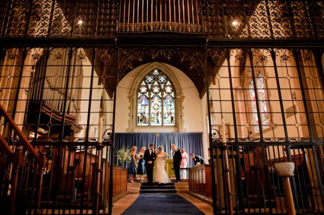 mariage à l'église