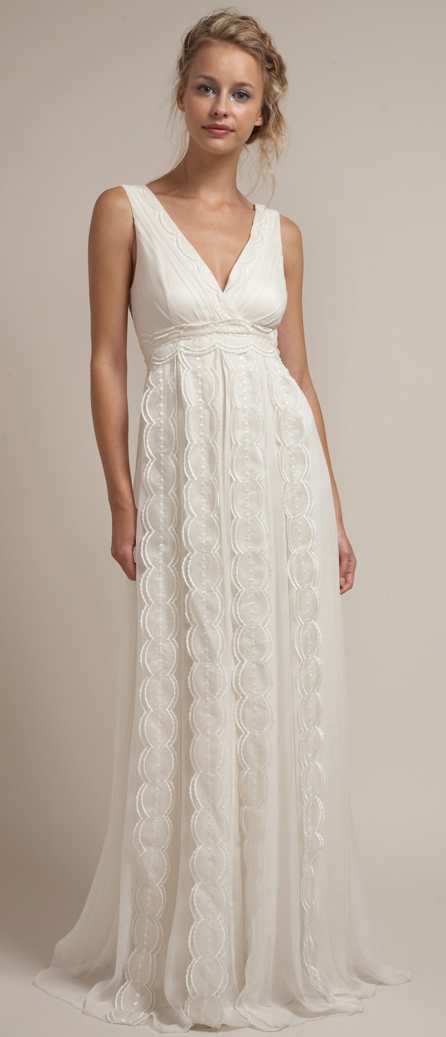 Saja Wedding dress rustic chic dress