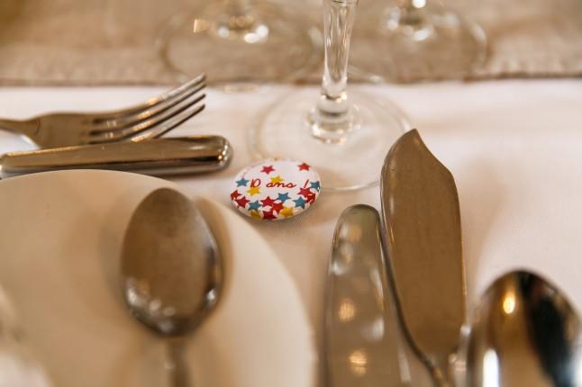 badges cadeau invités mariage