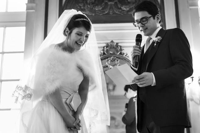 cérémonie laïque les mariés