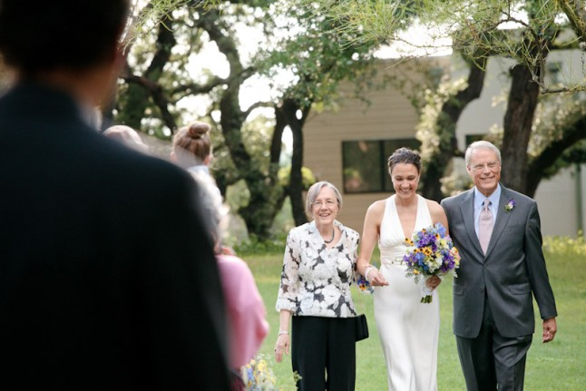 parents de la mariée