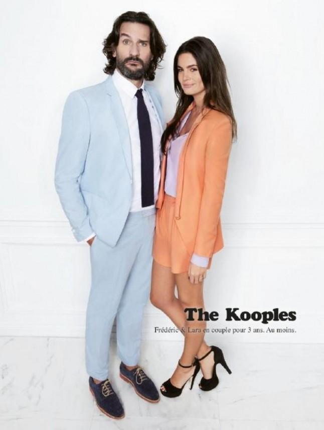 Frédéric Beigbeder et Lara The Kooples