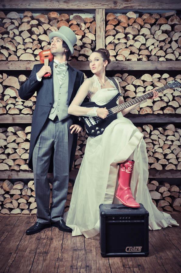 mariage thématique musique rock