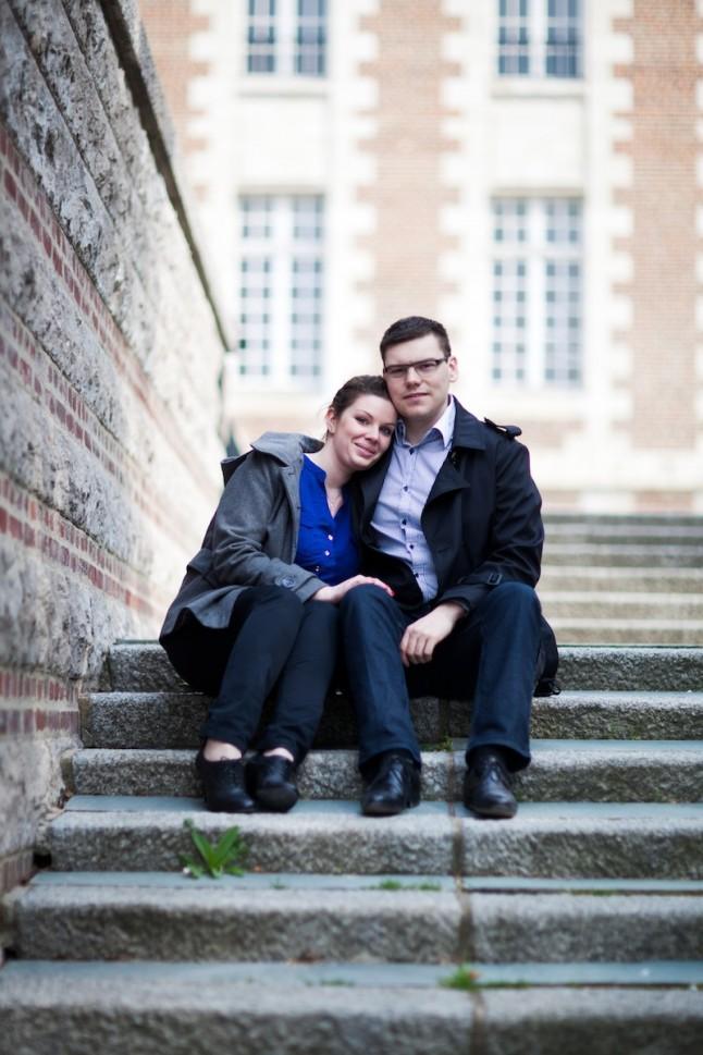 photo de couple à Amiens