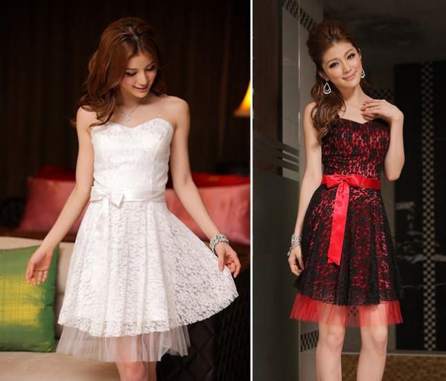 Armandina - robe de soirée dentelle