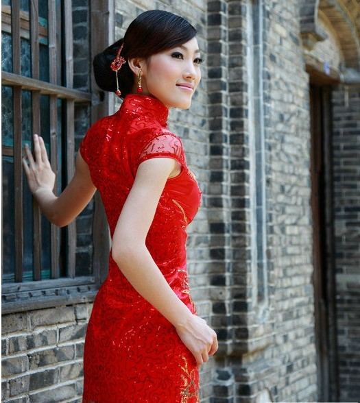 robe de mariée chinoise