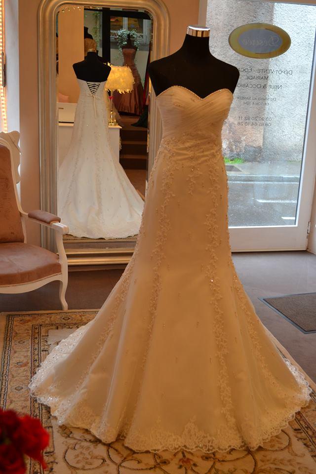 dbc1d518336 Trouver sa robe de mariée dans un dépôt-vente