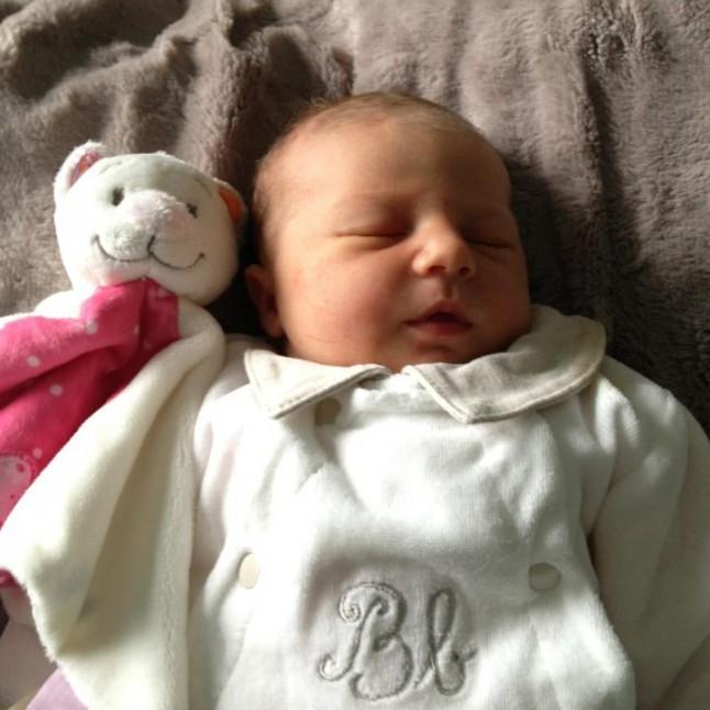 Livia, bébé de Mme Emeraude