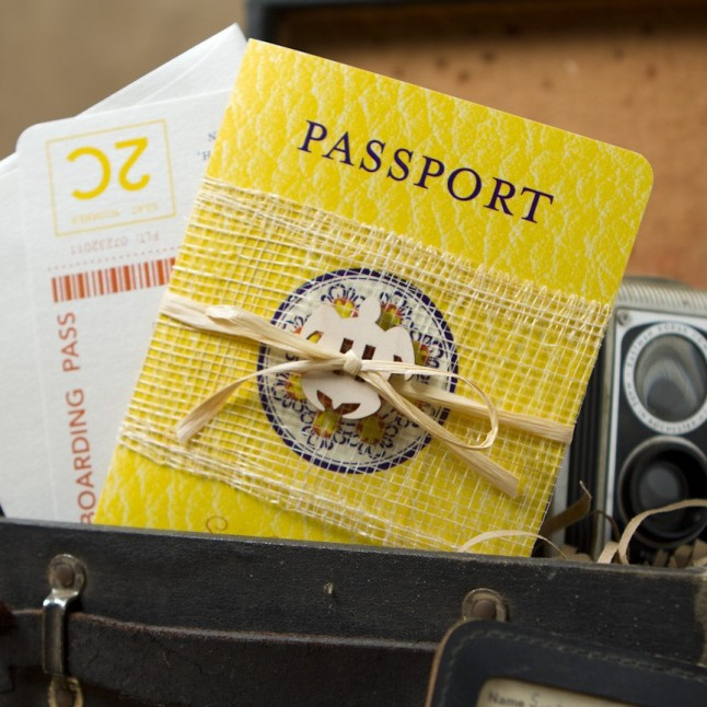 faire-part passeport
