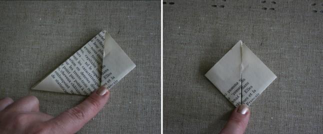 Tutoriel fleurs en papier étape C
