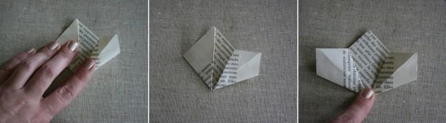 Tutoriel fleurs en papier étape D