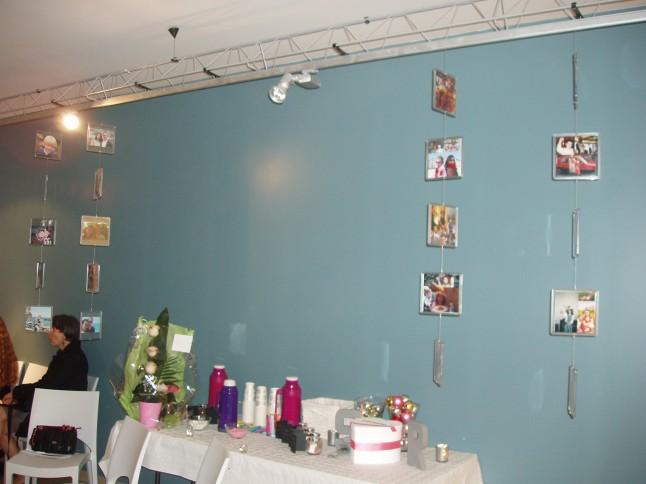 mariage expo photos table bar à boissons chaudes