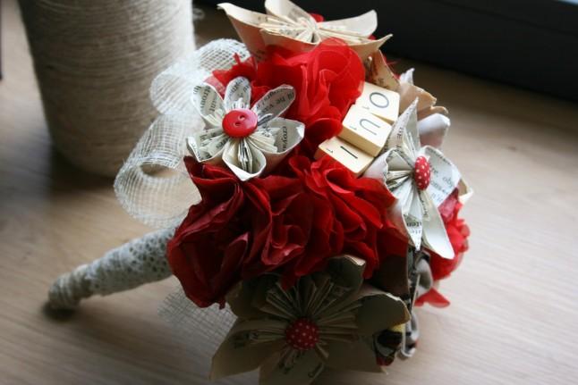 bouquet de mariée DIY
