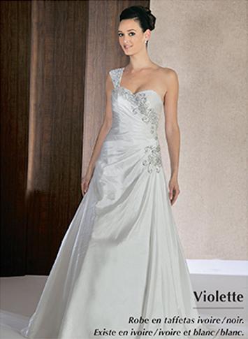 robe de mariée Violette de Annie Couture