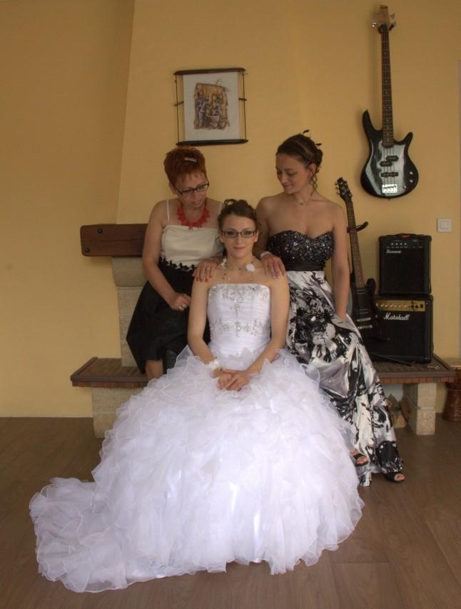 La mariée et ses proches