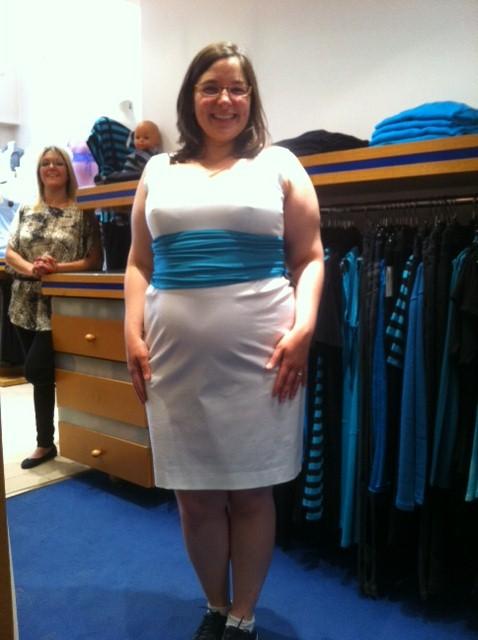 essayage robe enceinte
