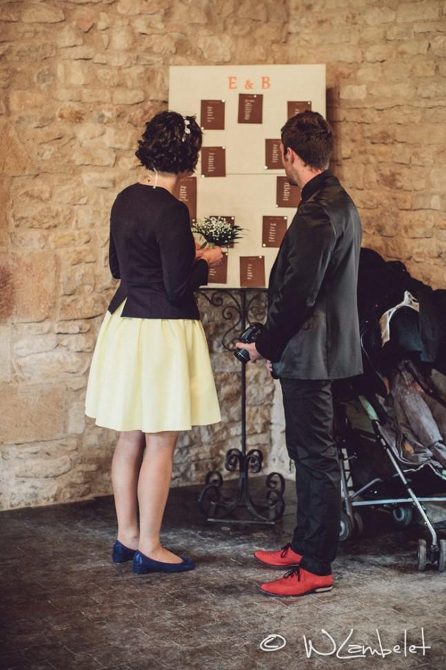 mariage Beaujolais plan de tables
