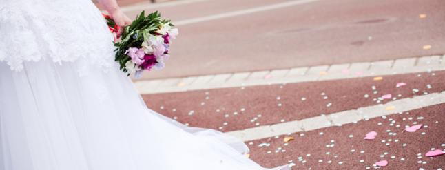mariage sortie de mairie