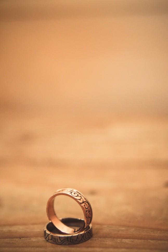 alliances sur-mesure mariage médiéval