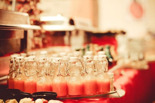 dîner de mariage buffet
