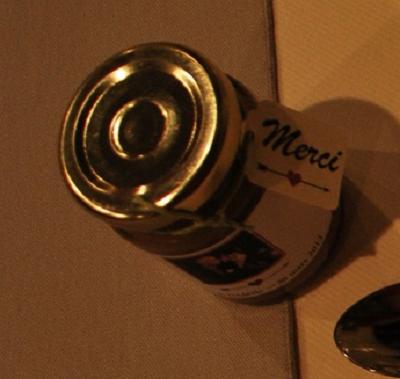 caramel avec etiquette MERCI