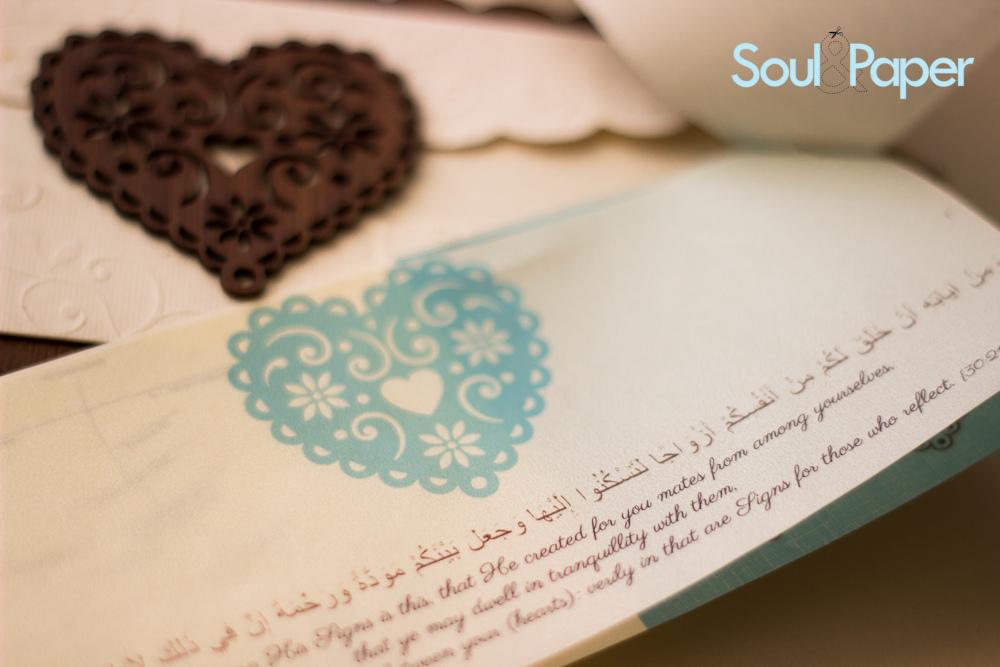 faire-part Soul & Paper