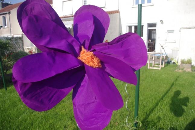 Fleur géante