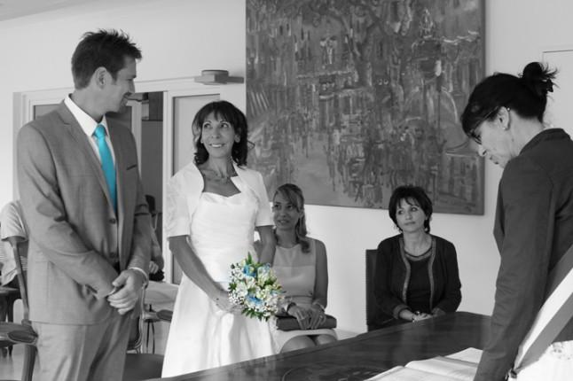 mariage à la mairie