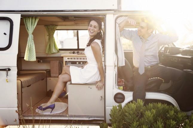 photo de couple combi VW