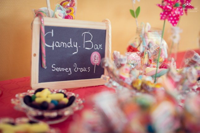 déco de mariage candy bar Landes