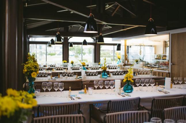 déco de salle mariage au Cap Ferret