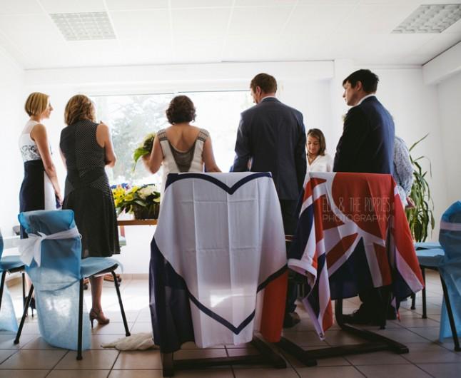 mariage à la mairie cap Ferret