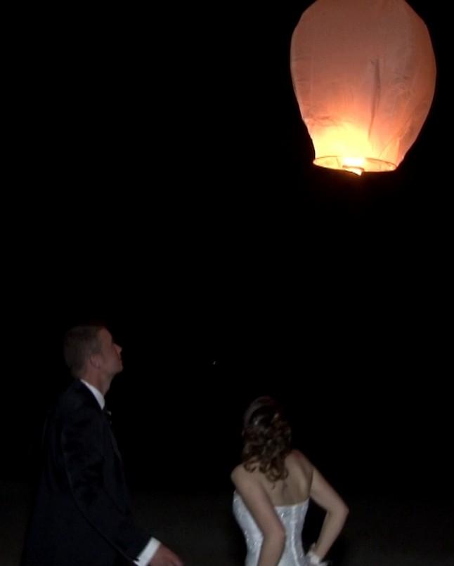 Envol de la lanterne