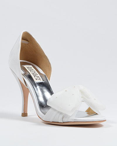 Zandra Badgley Mischka white