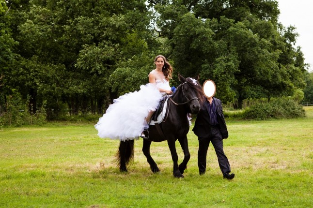 Arrivée à cheval